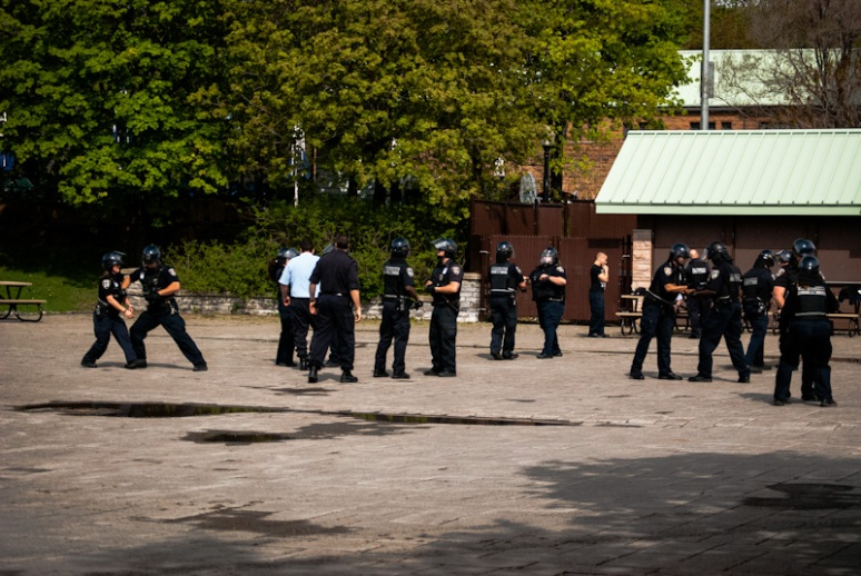 STM Inspectors riot training