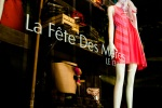 La Baie Mother's Day window Display