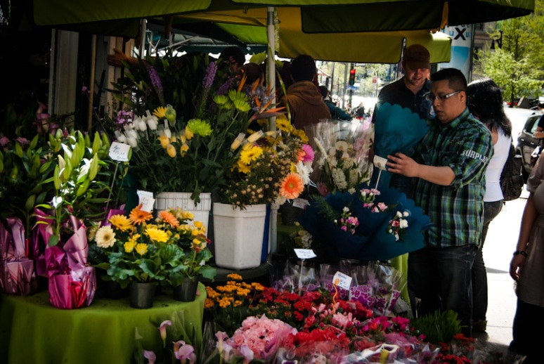 Flowers in hot demand