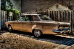 HDR of an old Dodge Dart