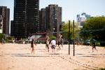 Jeanne Mance Park Beach Volleyball Courts