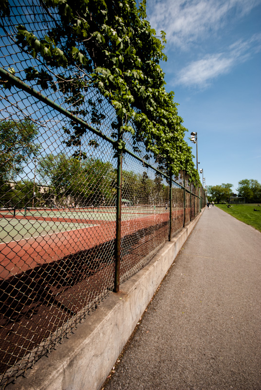 Jeanne Mance Tennis Courts