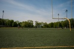 Jeanne Mance Park Astro turf football field