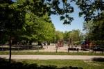 Parc Jeanne Mance kids playground