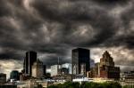 Stormy Montreal Skyline