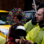 Colorful head wear