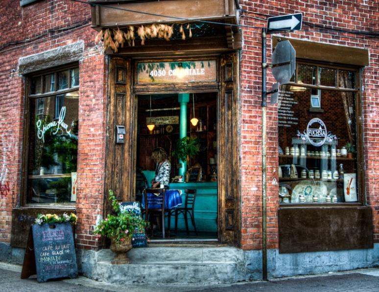 Fuchsia Epicerie Fleur Café