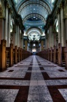 View from front towards the Baldacchino