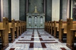 Inside the Basilique Marie-Reine-du-Monde