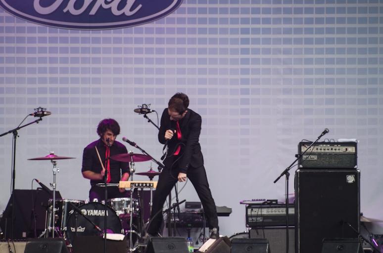 Dionysos at the 2012 FrancoFolies