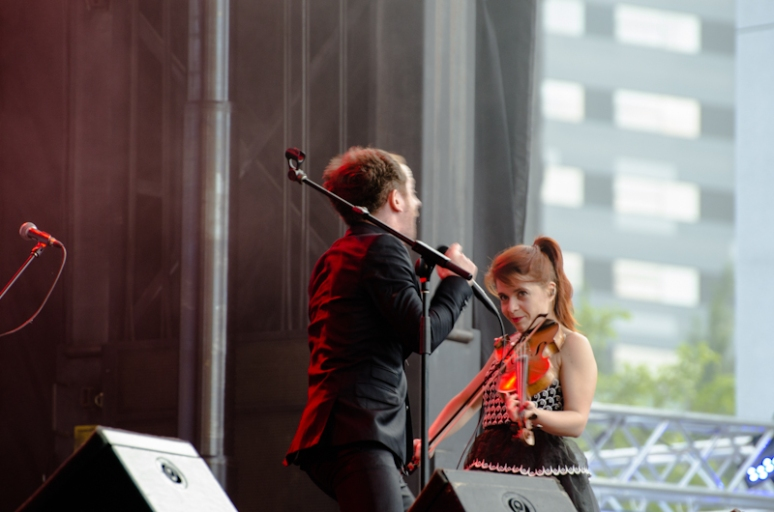 Dionysos at the 2012 FrancoFolies