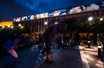 Student demonstrators converge on the FrancoFolies festival
