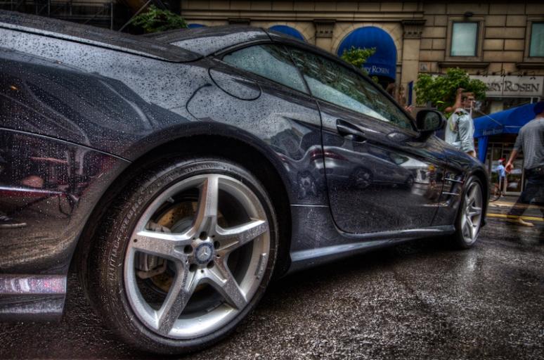 Mercedes HDR