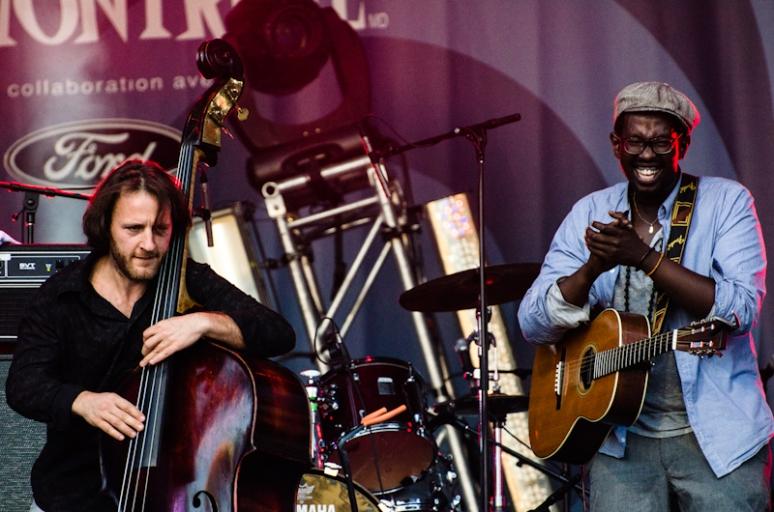 Jali at 2012 Francofolies festival