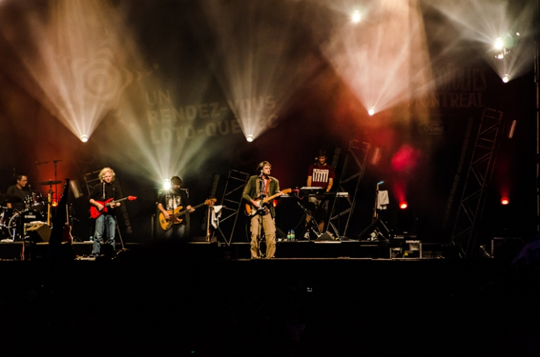 Plume Latraverse at the 2012 Francofolies festival