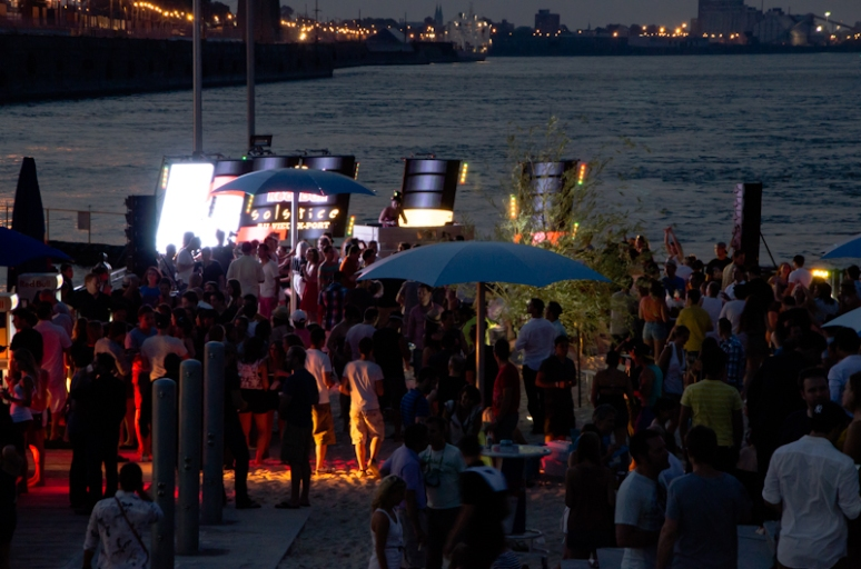 Red Bull Solstice party