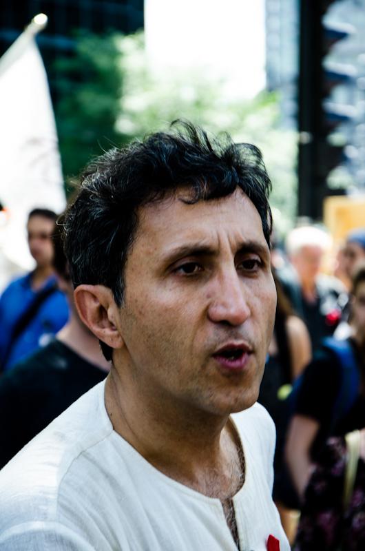 MNA Amir Khadir in support