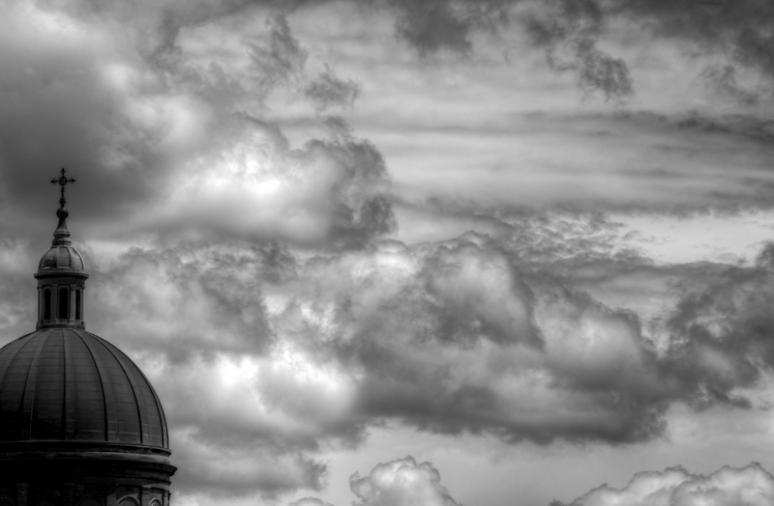 Storm clouds over Religieuses Hospitalières de St Joseph