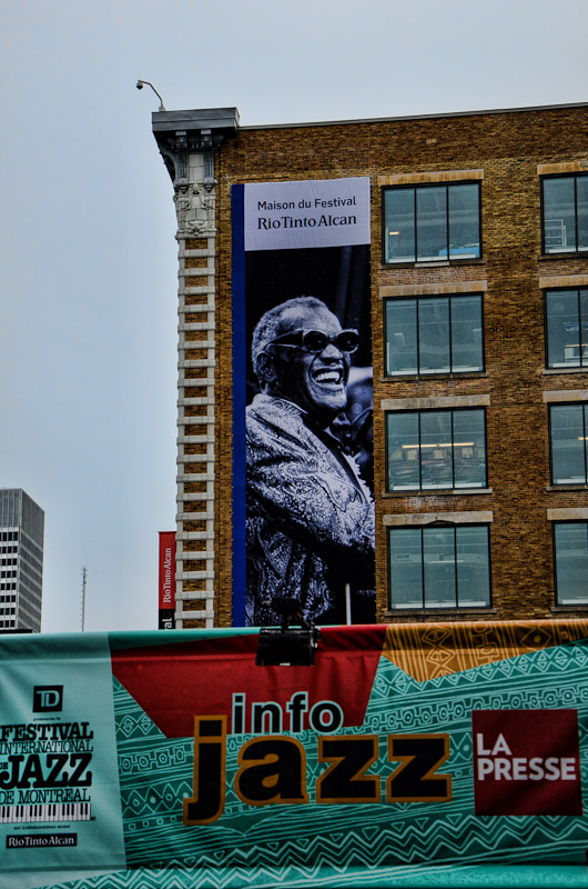 Ray Charles Banner