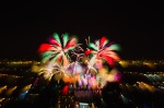Pulled focus exposure firework experiment