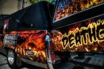 Deathgrill - served out the back of a hearse