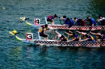 Head to head Dragon Boat racing