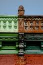Colorful architecture on le Plateau