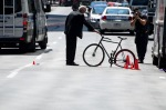 Cycle accident on Maisonneuve blvd