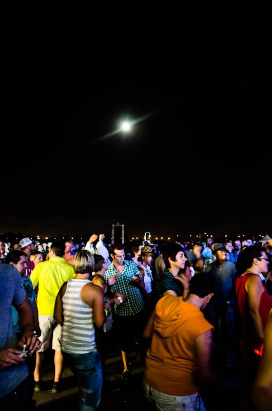 Dancing under a full moon