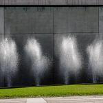 Fountains at Place des Arts