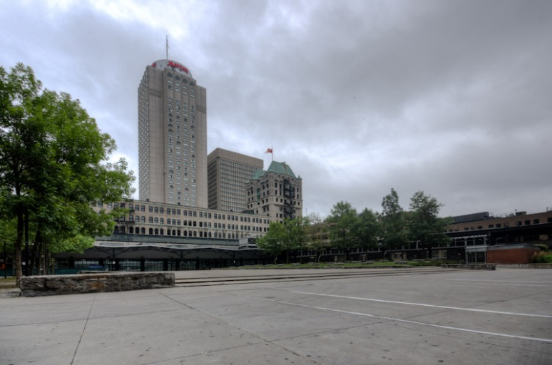 Windsor Station public square
