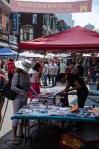 Chinese sales event on rue de la Gauchetière