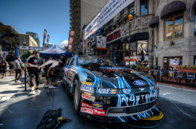 NASCAR on Crescent street