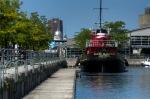 The Daniel McAllister tug boat