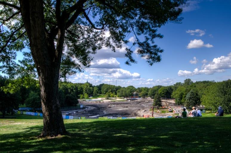 Lac aux Castors renovation
