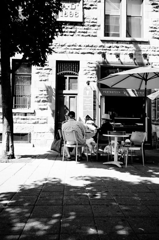Ice Cream parlor on rue Prince Arthur