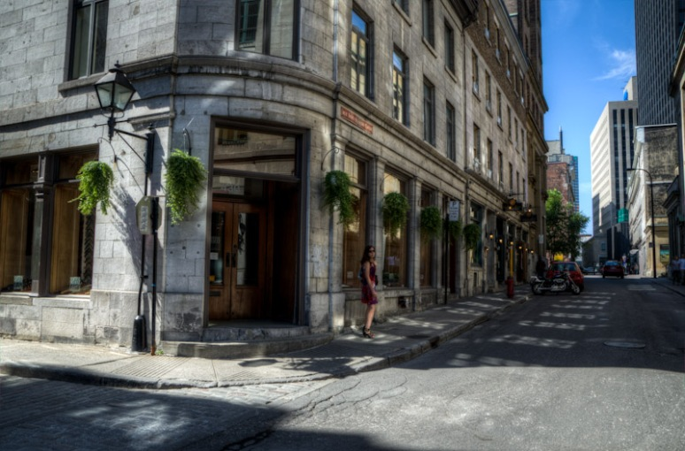 corner of rue Saint François Xavier and Saint Sacrement