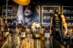 Lady Gaga's new perfume Fame window display at La Baie