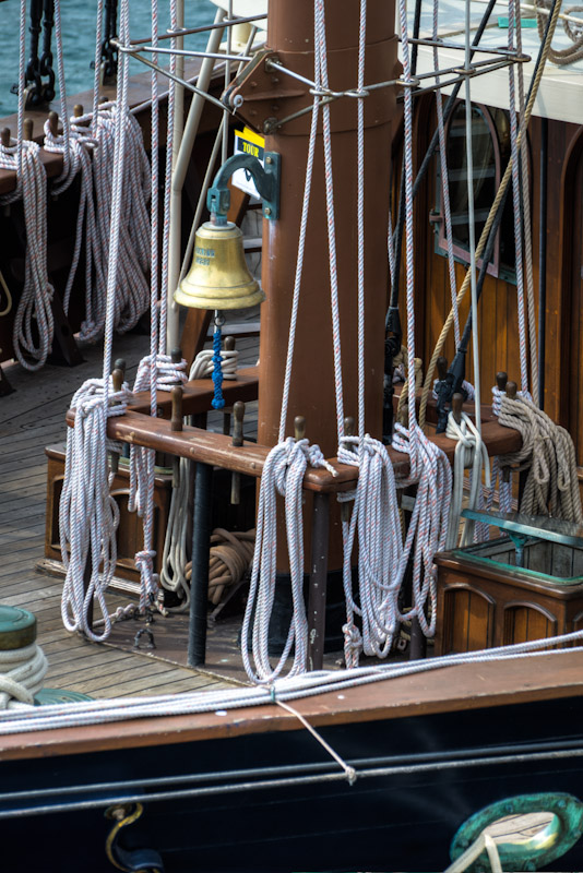 The Peacemaker Tall Ship bell