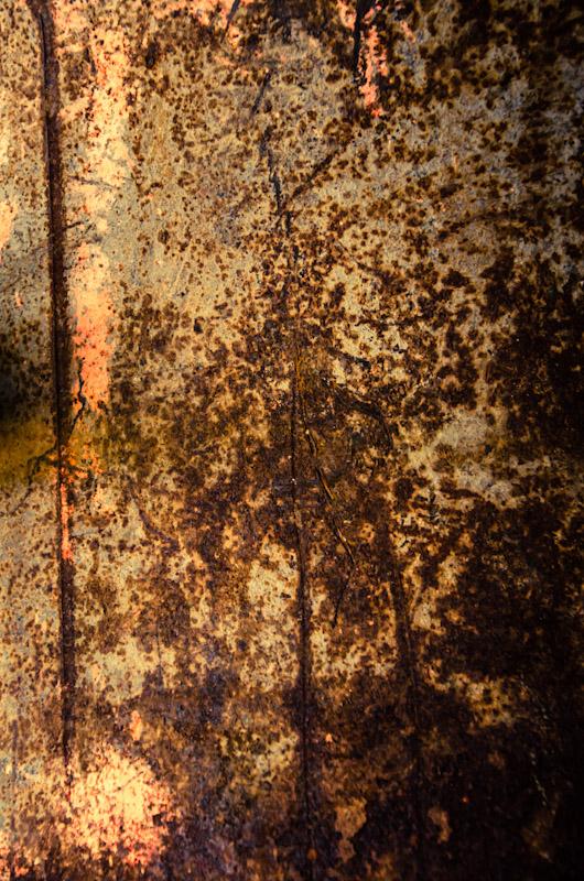 Texture - rusting metal