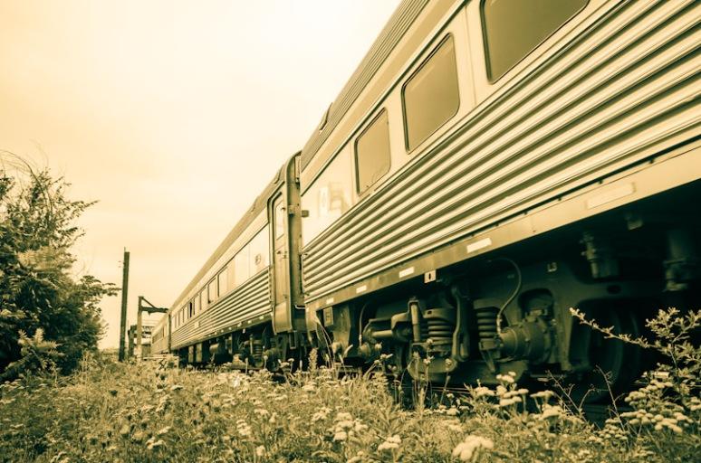 Via Rail train locomotive