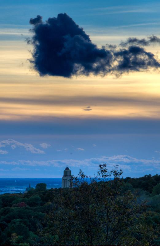 Dark Cloud over Université de Montréal