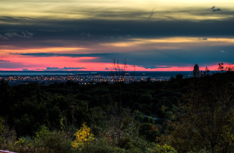 Sunset on Mount Royal