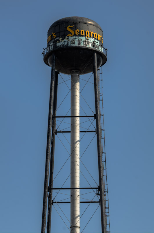 The Seagram Water Tower in LaSalle