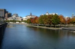 Autumn colors at Basin Bonsecours