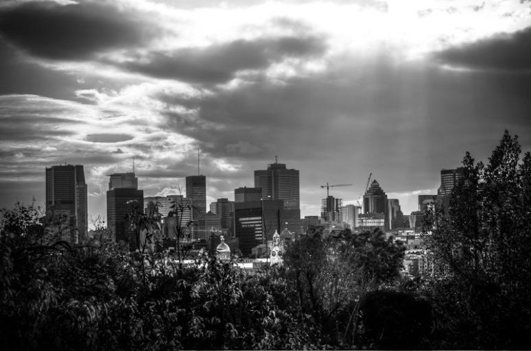 Montreal skyline from Ile Sainte Hélène