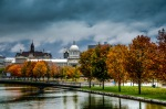 Basin Bonsecours in autumn
