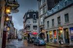 Rue Saint Paul in the rain