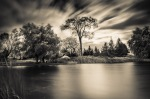 Long exposure with Pseudo Infrared processing