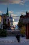 Faubourg Quebec toward Marché Bonsecours